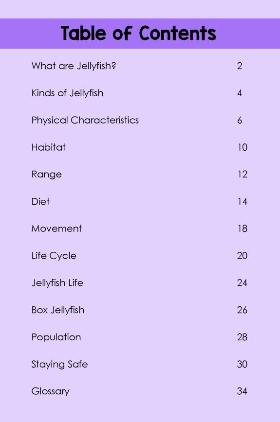 Jellyfish- TOC